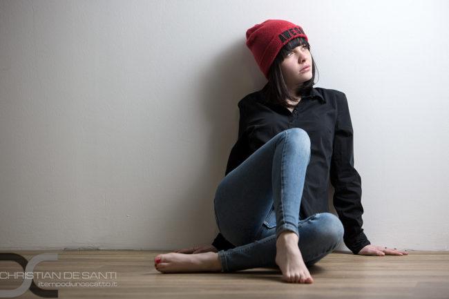 Eccezionale cappello rosso di Chiara
